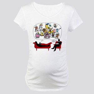 Therapist Psychologist Maternity T-Shirt