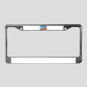 Park Avenue, Arches National P License Plate Frame