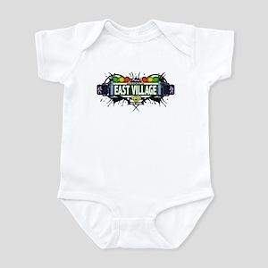 East Village (White) Infant Bodysuit