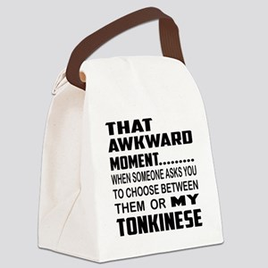 That awkward moment... my Tonkine Canvas Lunch Bag