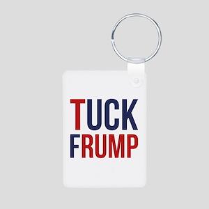 Tuck Frump Aluminum Photo Keychain