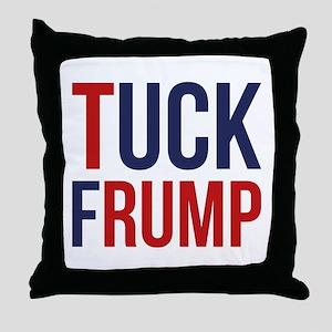 Tuck Frump Throw Pillow