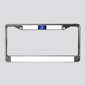 Michigan License Plate Flag License Plate Frame