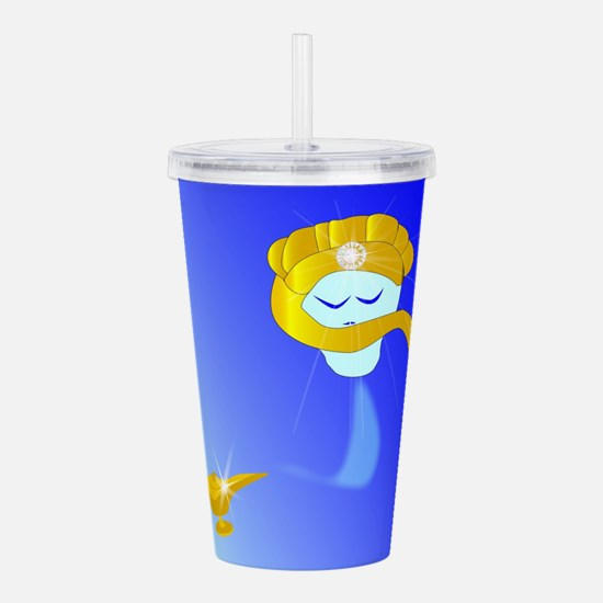 Genie of the lamp Acrylic Double-wall Tumbler