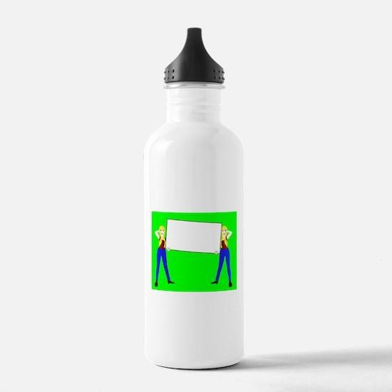 Sign Girls Water Bottle