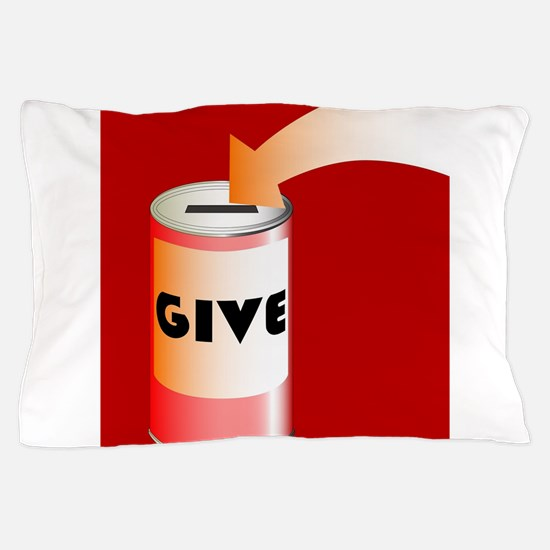 Charity Tin Pillow Case