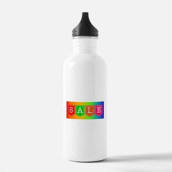 Sale Sign Water Bottle