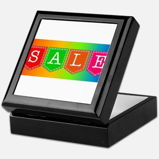 Sale Sign Keepsake Box