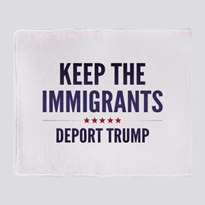 Keep The Immigrants Stadium Blanket