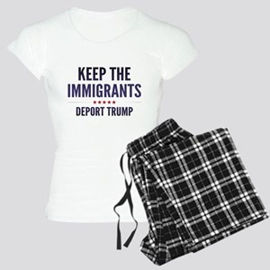 Keep The Immigrants Women's Light Pajamas