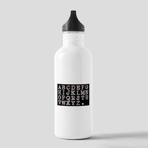Alphabet Stainless Water Bottle 1.0L
