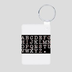Alphabet Keychains