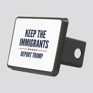 Keep The Immigrants Rectangular Hitch Cover