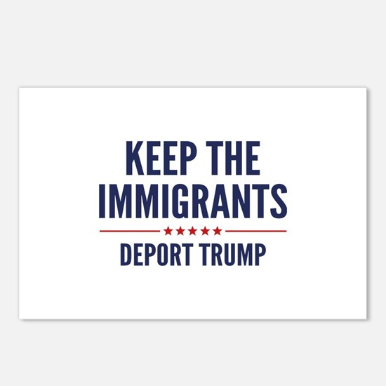 Keep The Immigrants Postcards (Package of 8)