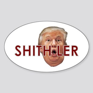 Shitholer President Trump Sticker