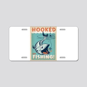 Fishing Aluminum License Plate