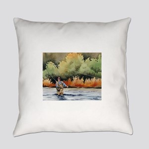Fishing Everyday Pillow