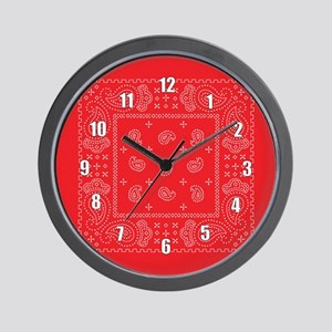 Bandana Rodeo Wall Clock