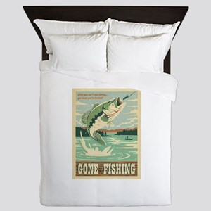 Fishing Queen Duvet