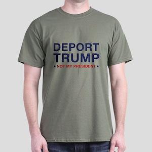 Deport Trump Dark T-Shirt