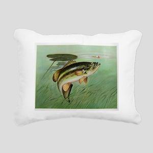 Fishing Rectangular Canvas Pillow