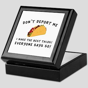 Don't Deport Me Keepsake Box