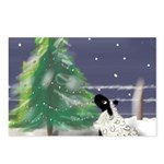 On a Cold Winter's Night Postcards (Package of 8)