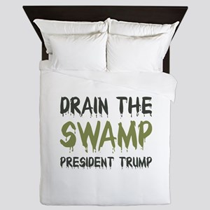 Drain The Swamp Queen Duvet