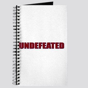 Undefeated Journal