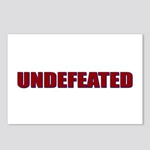 Undefeated Postcards (Package of 8)
