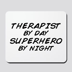 Therapist Superhero Mousepad