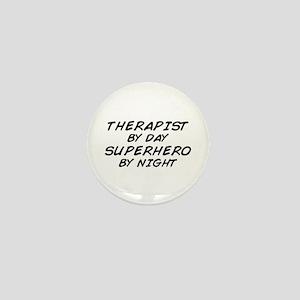 Therapist Superhero Mini Button