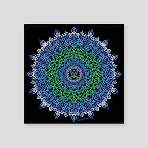 Tribal Turtle Mandala Sticker