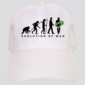 Evolution Stamp collector Baseball Cap