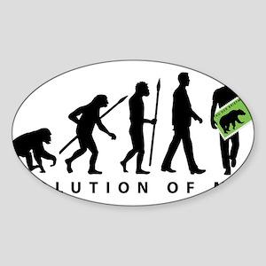 Evolution Stamp collector Sticker