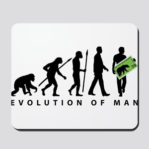 Evolution Stamp collector Mousepad
