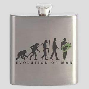 Evolution Stamp collector Flask