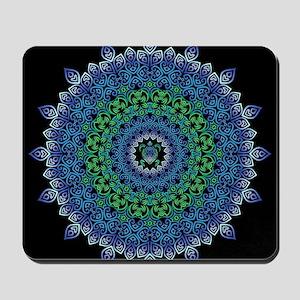 Tribal Turtle Mandala Mousepad