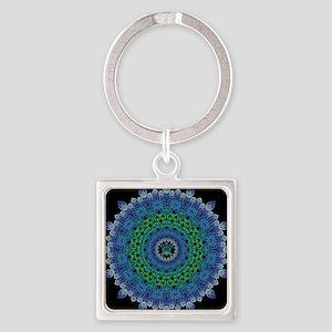 Tribal Turtle Mandala Keychains