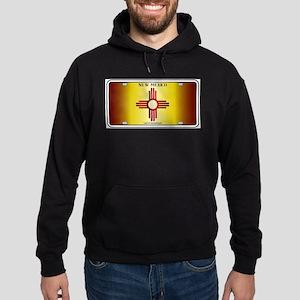 New Mexico Flag License Plate Sweatshirt
