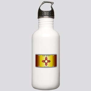 New Mexico Flag Licens Stainless Water Bottle 1.0L