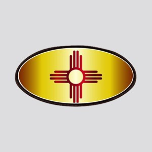 New Mexico Flag License Plate Patch