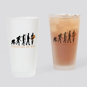 Evolution Stamp collector Drinking Glass