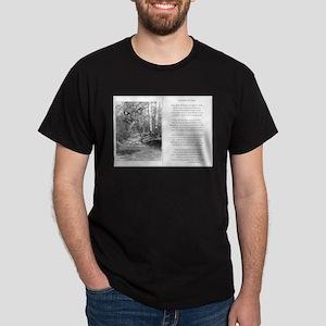 The Road Not Taken Ash Grey T-Shirt