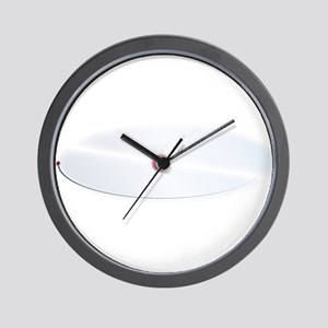 Hydrogen Atom Pathway Wall Clock