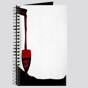 Pouring Red Wine Journal
