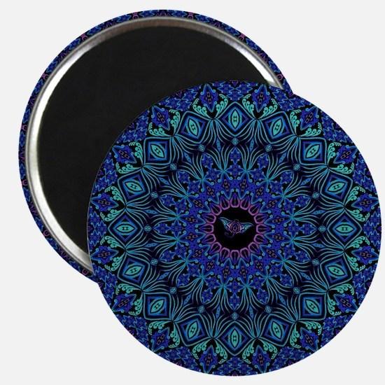 Tribal Manta Mandala Magnets