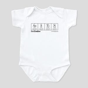 Au S Ti N Transparent Infant Bodysuit
