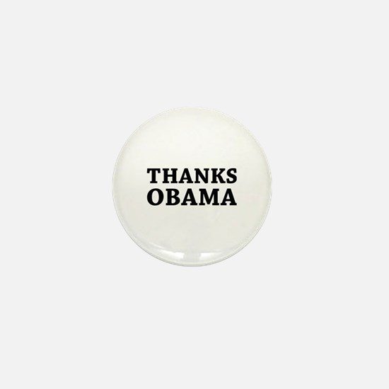 Thanks Obama Mini Button