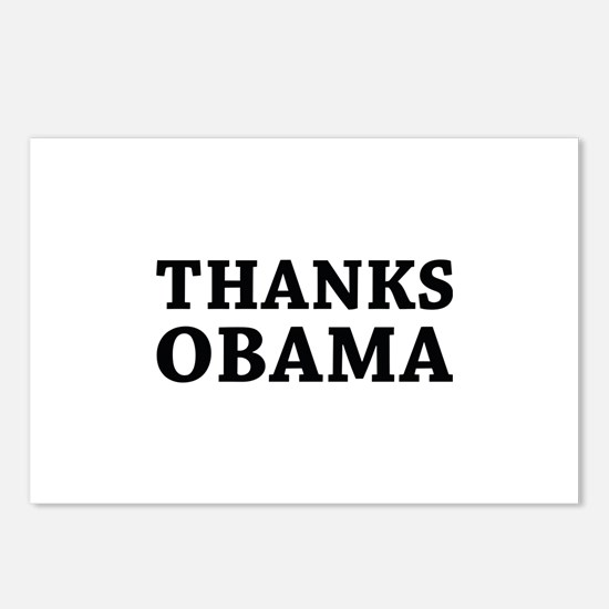 Thanks Obama Postcards (Package of 8)